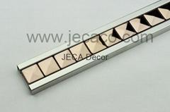 brown SUS decor tile trim,border