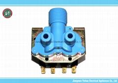 plastic pipe fitting water solenoid valve washing machine electric valve 220vac