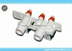 Three Way  Inlet Valve  Solenoids water valve For Washing Machines.