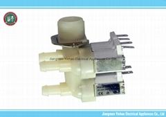 3-way Water Inlet Valve For Washing Machine and Dishwasher(G3/4''*12)