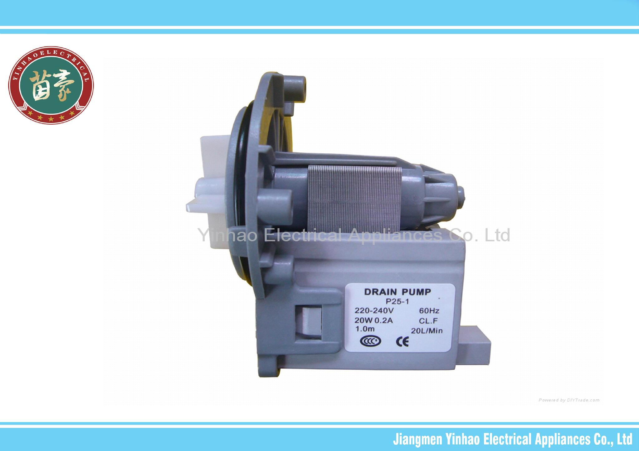 Drain pump for washing machine front load washing machine for Lg washing machine pump motor