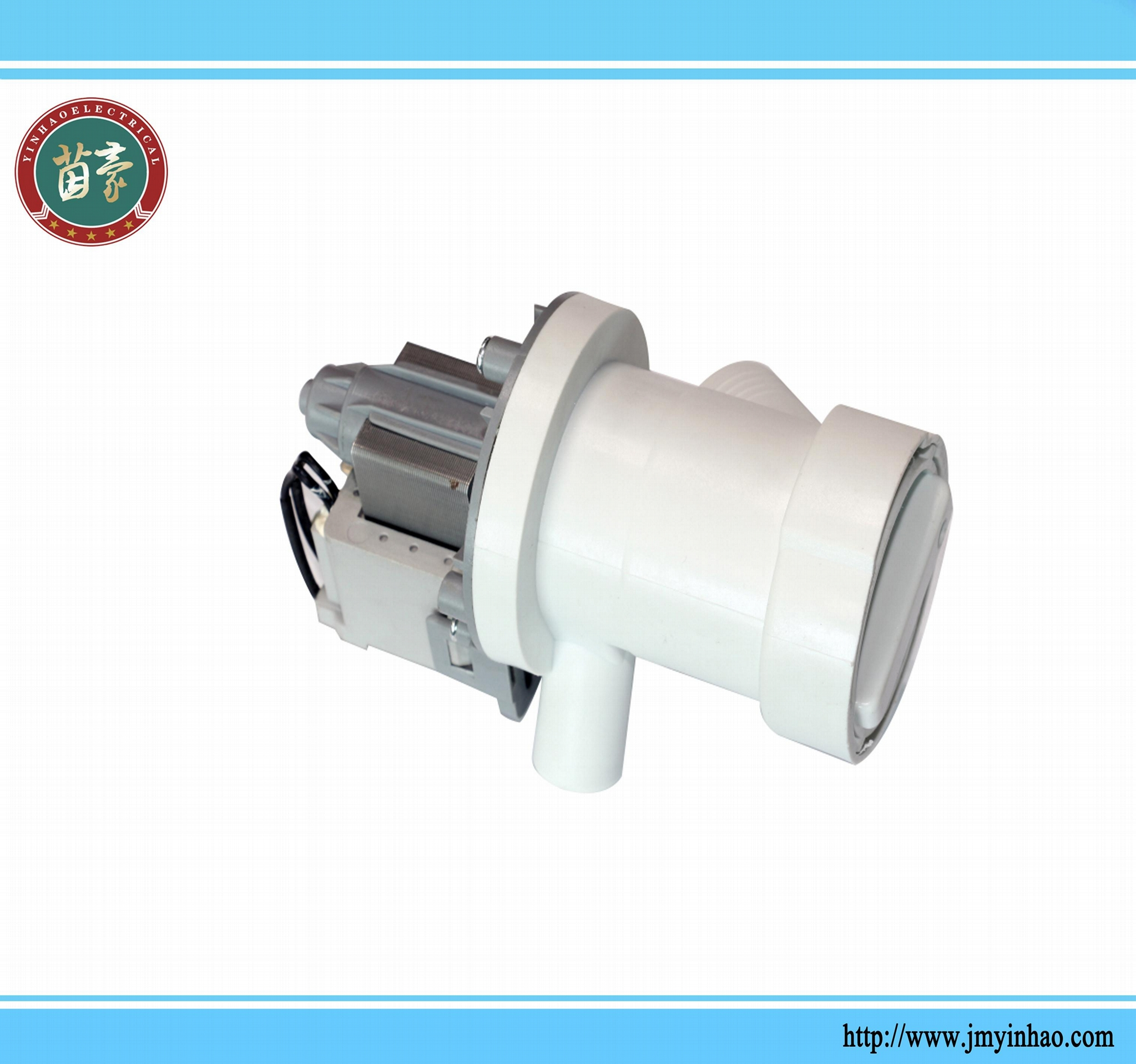 Permanent magnet synchronous drain pump for washing machine 1