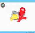 Solenoid inlet valve for washing machine