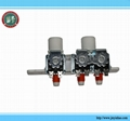 inlet water solenoid valve 3 way valve multi-way water valve washing machine 2