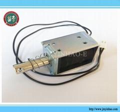 DC6V/12V/24V  5N/10mm Pull-Push-Type Solenoid Electromagnet