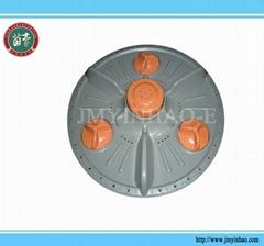 Washing machine impeller plastic pulsator