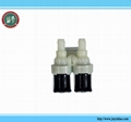 DOUBLE TWIN Inlet Water SOLENOID VALVE 90 Degree - Washing Machine Dishwasher