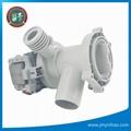 clean drain pump washing machine