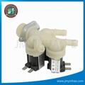 Triple Inlet Washing Machine Water SOLENOID VALVE 180 Degree 3 WAY