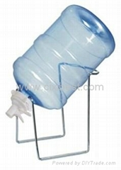 Drinking Water Bottle Rack Steel Bottle Carrier BR-02A