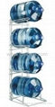5 Gallon Water Bottle Storage Rack with