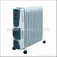 Portable Oil Filled Radiator Heater With Timer BO-1004F