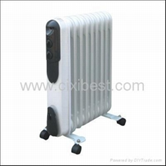 Slim Portable Electric Oil Filled Radiator Heater BQ-1016