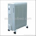 Slim Type Portable Room Oil Filled Radiator Heater BO-1005