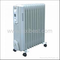 Slim Type Portable Room Oil Filled Radiator Heater BO-1005