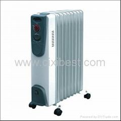 2000W Electric Room Oil Filled Radiator Heater BO-1004