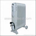 2000W Portable Electric Oil Filled Radiator Heater BO-1018
