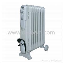 2000W Portable Electric Oil Filled Radiator Heater BO-1018