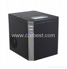 Countertop Black Pellet Ice Maker Machine BI-207