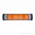 Wall Mounted Quartz Tube Infrared Patio Heater BI-101