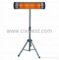 Standing Electric Quartz Tube Heating Far Infrared Heater BI-102