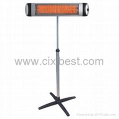 Electric Quartz Tube Heating Infrared Patio Heater Radiator BI-107