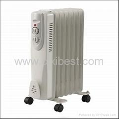 Slim Electric Room Oil Filled Radiator Heater BO-1001