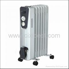 Safe Heating Oil-FilledOil Filled Heater Radiator BO-1002