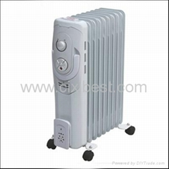 New Portable Electric Oil Filled Radiator Heater BO-1019