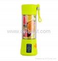 Light Green Juicer USB Juice Blender BJ-02 1
