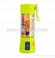 Light Green Juicer USB Juice Blender BJ-02