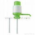 Green Gallon Bottle Pump Manual Water