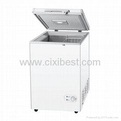12V Solar Powered Chest Freezer Fridge Refrigerator BF-108