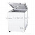 128L Solar Powered Chest Freezer Fridge Refrigerator BF-128