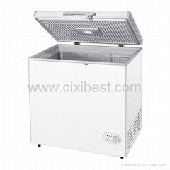 Solar Powered Chest DC Freezer Fridge Refrigerator BF-158