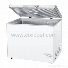 Solar Powered Chest Deep Freezer Fridge Refrigerator  BF-258