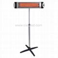 Electric Quartz Tube Heating Infrared Patio Heater Radiator BI-107 1