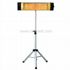 Freestanding Electric Quartz Tube Infrared Patio Heater BI-104