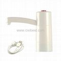 White Usb Rechargeable Electric Water Bottle Pump BP-35