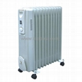 Slim Room Heating Oil Filled Radiator Heater BO-1002