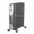 Black Body Electric Oil Filled Radiator Heater BO-1004B