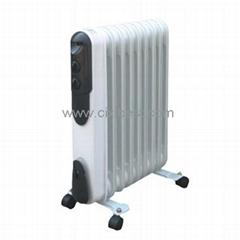 Slim Portable Electric Oil Filled Radiator Heater BQ-1008