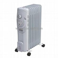 Big Portable Electric Oil Filled Radiator Heater BO-1010