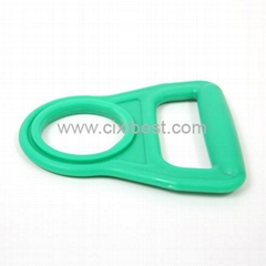 Green Plastic Bottle Handle Holder Bottle Carrier Lifter BT-109