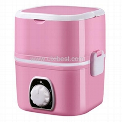 Portable Pink Food Container Lunch Bento Box LB-102