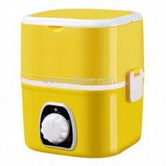 1.6L Yellow Food Container Plastic Lunch Box LB-103