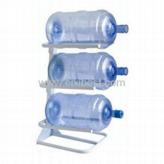 3 Step Floor Metal Gallon Bottle Stand Holder BR-11
