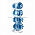 4 Layer Metal Gallon Water Bottle Stand