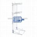 Floor Standing Metal Gallon Bottle Stand