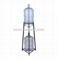 Gallon Water Bottle Storage Rack with 2
